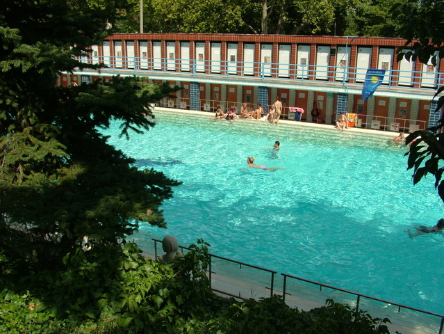 Local swimming pool and open-air baths